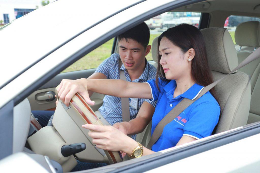 Trung tâm đào tạo lái xe ô tô Sao Bắc Việt.