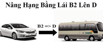 Điều kiện quan trọng để nâng bằng lái xe từ b2 lên d cập nhật mới nhất