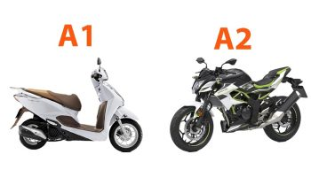 Bằng lái xe a1 và a2 khác gì nhau ? Nên chọn thi bằng lái a1 hay a2 ?